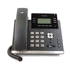 "Ultra-elegant Gigabit IP Phone 2.7"" 192x64-pixel graphical LCD with backlight"