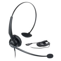 IP Phone Headset Wideband audio for natural sound and clearer conversations